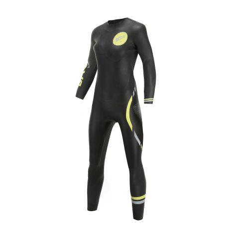 Basics Wetsuit Women's Long Sleeve Regular Zipper