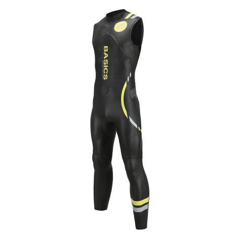 Basics Wetsuit Men's Sleeveless Regular Zipper