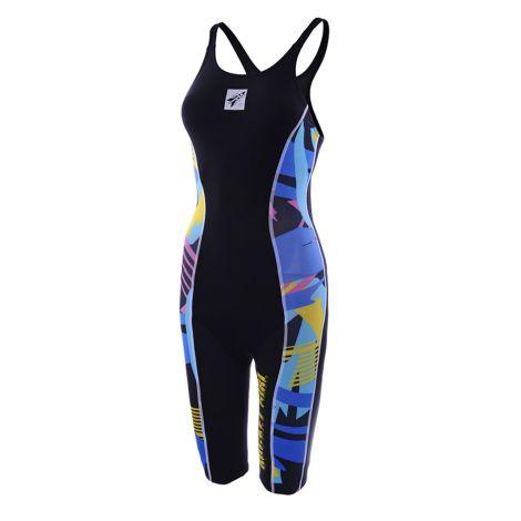 Rocket Orbit2 Women's Knee Custom Swimsuit