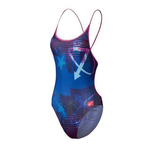 Flight Performance Women's Custom Thin Strap Swimsuit Club Fit